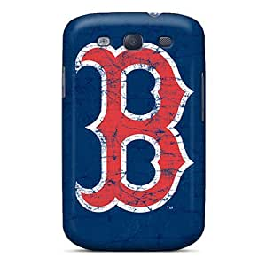 Flexible Tpu Back Case Cover For Galaxy S3 - Boston Red Sox