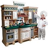Step2 Lifestyle Deluxe Kids Pretend Kitchen