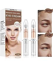 Eye Cream,Rapid Reduction Eye Cream,Under Eye Cream,Anti Aging Eye Cream,Depuffing Eye Cream Instant Eye Wrinkle Cream for Firming Eye Dark Circles Puffiness Finelines Under Eye Bags 2PCS