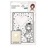 Santoro Gorjuss Postal Craft Collection - Cut & Emboss Folder - Little Heart