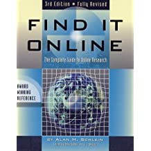 Find it Online: The Complete Guide to Online Research, Third Edition