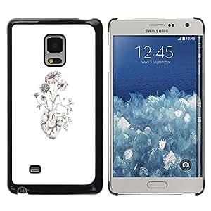Caucho caso de Shell duro de la cubierta de accesorios de protección BY RAYDREAMMM - Samsung Galaxy Mega 5.8 9150 9152 - Anatomy Good Art Drawing