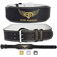 Gym Maniac GM Weight Lifting Waist Gym Belt | Adjustable...