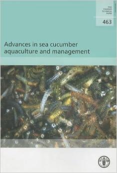 Descargar Libros Gratis Advances In Sea Cucumber Aquaculture And Management En PDF Gratis Sin Registrarse