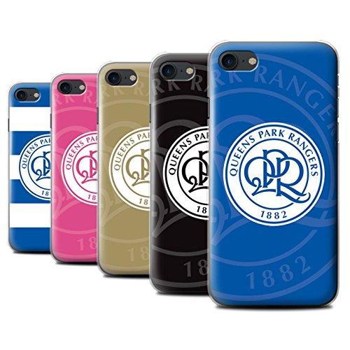 Offiziell Queens Park Rangers FC Hülle / Case für Apple iPhone 7 / Pack 11pcs Muster / QPR Fußball Crest Kollektion