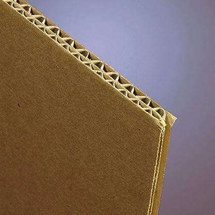 Amazon com : Double Wall Corrugated Cardboard Sheets 48