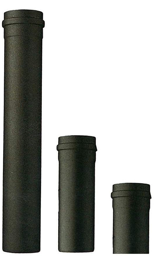 Tubo para estufa de pellets cm. 25 x d.10 unidades de 1pz