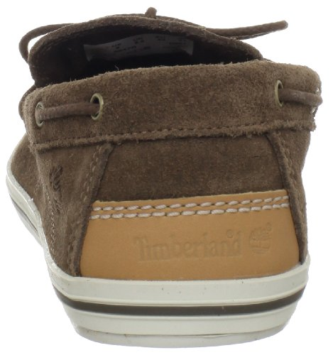 Timberland EKCASCOBAY 1EYE BROW BROWN - Mocasines de cuero hombre marrón - Braun (BROWN)