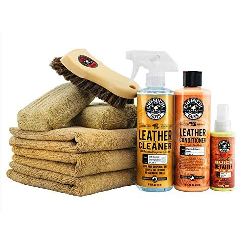 Chemical Guys - Leather Cleaner/Conditioner/Care Kit
