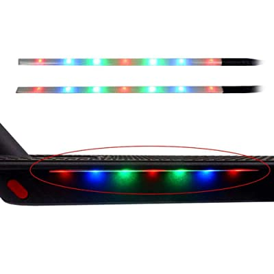 Yifant LED Strip Lights for Xiaomi M365 / M365 Pro/Ninebot ES1 ES2 ES3 ES4 / Other Electric Scooter Accessories Waterproof Light-Up Colorful Lamp for Skateboard Decoration Kit : Sports & Outdoors