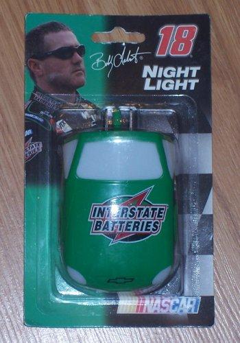 Nascar #18 Bobby Interstate Batteries Night Light - Interstate Batteries Nascar