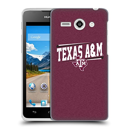 Official Texas A&M University TAMU Double Bar Hard Back Case for Huawei Ascend Y530 / C8813