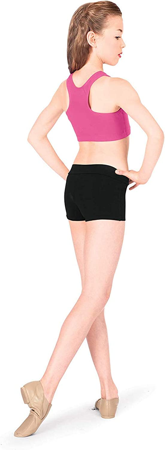 Theatricals Girls Dance Shorts N5505C: Clothing