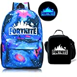 Gash Hao Fortnite Backpack Boy Lunch Box School Bookbag Insulated Mini Warm Bag for Kids