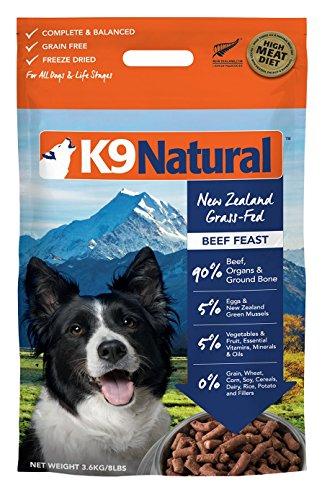 K9 Natural Freeze Dried Dog Food Beef 8lb