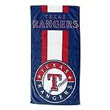"MLB Texas Rangers ""Zone Read"" Beach Towel, 30"" x"