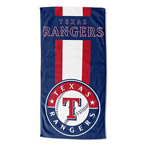 "Officially Licensed MLB Texas Rangers Zone Read Beach Towel, 30"" x 60"""