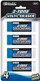 DDI Bazic Two-Tone Vinyl Eraser (4/Pack) Case Pack 72
