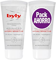 BYLY DESODORANTE CREMA 50ML SENSITIVE DUPLO