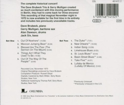 Live At The Berlin Philharmonic