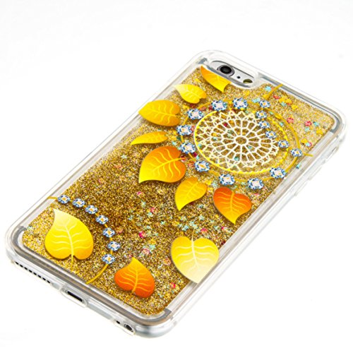 Für Apple iPhone 6 Plus (5,5 Zoll) Hülle ZeWoo® TPU Schutzhülle Silikon Tasche Case Cover - GS134 / Aurea
