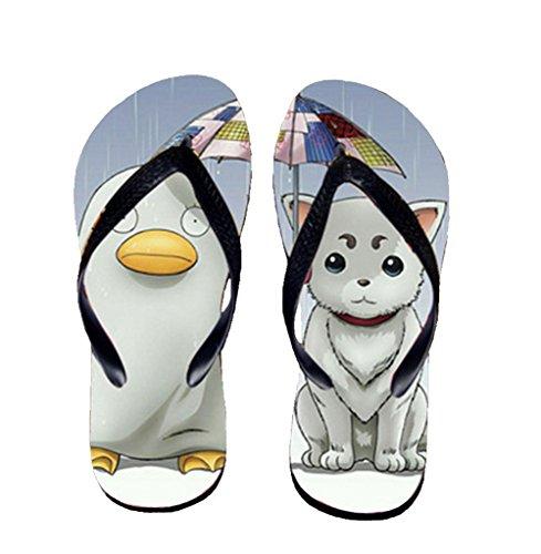Bromeo Gintama Anime Unisex Flip Flops Chanclas 488