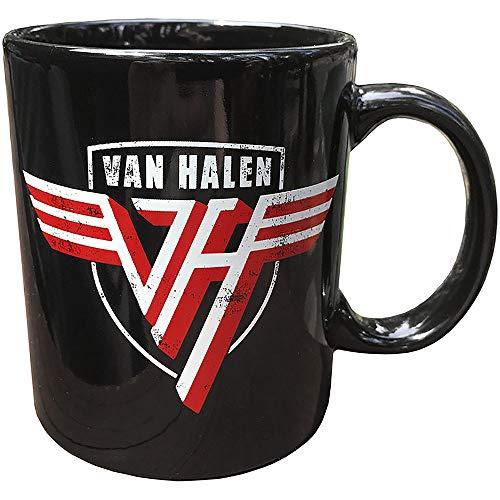 Van Halen Logo Boxed Ceramic Coffee Cup Mug, Officially Licensed