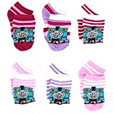 Thomas the Train & Friends Toddler Girls 6 pack Socks (Toddler)
