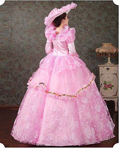 Soojun Robes De Bal D'halloween Cosplay De Robe De Bal Montrer Costume 6