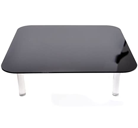 CowboyStudio Acrylic Black And White Magnetic Display Table For Product  Photography (Ps 13)
