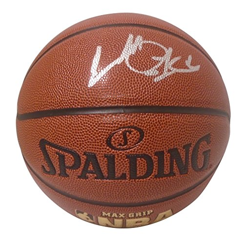 New York Knicks Charles Oakley Autographed Hand Signed NBA Spalding Basketball with Proof Photo of Signing, Chicago Bulls, Toronto Raptors, - Oakley Rocket