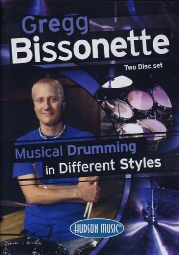DVD : Gregg Bissonette - Musical Drumming In Different Styles (DVD)