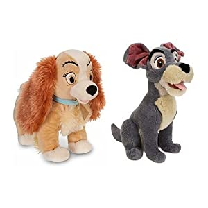 Amazoncom Disney Store Exclusive Lady And The Tramp Plush Set