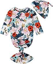 FAROOT Baby Girls' Sleeping Bag Floral Mermaid Tail Infant Nightgowns Gowns Blanket Sleepwear Ro