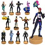 Fortnite Authentic Fortnite Toys with Stamp Set of 12 - Ghoul Trooper, Brite Bomber & Other Popular Fornite Battle Royale Characters - B Series Collection 2 of 3 for Boys &