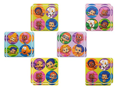Bubble Guppies Party Favors - 18 sheets 72 Count ()