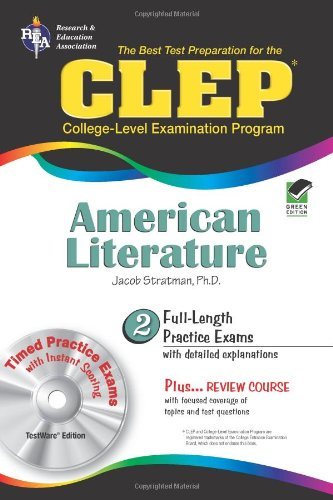 CLEP® American Literature w/CD (CLEP Test Preparation)
