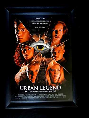 Urban Legend-1998 Orig Poster-Jared Leto-Alicia Witt-Horror-Mystery Vf