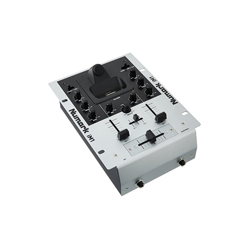 Numark iM1 2-Channel DJ mixer with iPod