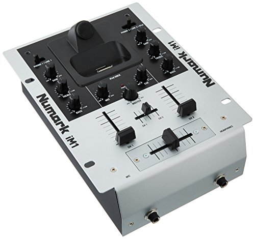 Numark iM1 2-Channel DJ mixer with iPod dock