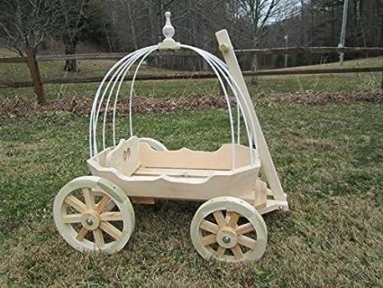 Mini Wedding Wagons Angel Cinderella Carriage44 Unfinished