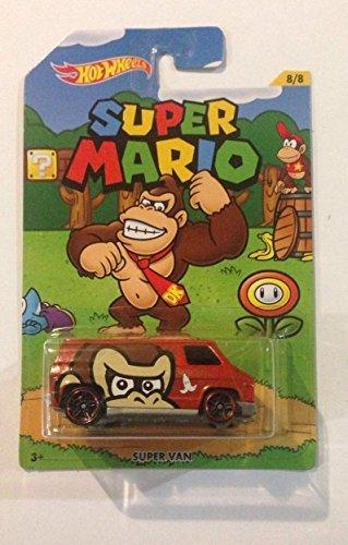 Hot Wheels Super Mario Super Van Donkey Kong 2016 ()