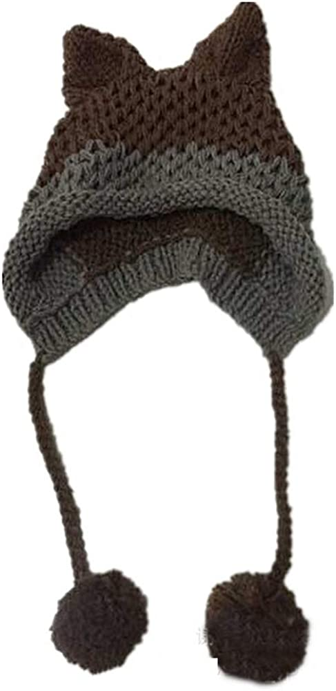SUNNY Store Warm Winter Beanie for Women Chunky Cable Knit Hat
