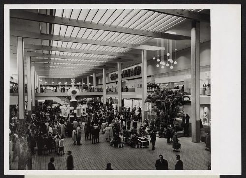 Photo: Midtown Plaza,shopping center,urban renewal,Rochester,New York,NY,1963 - Rochester York Shopping New