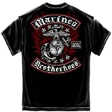 USMC Brotherhood - Marines T-Shirt by ERazorBits Apparel