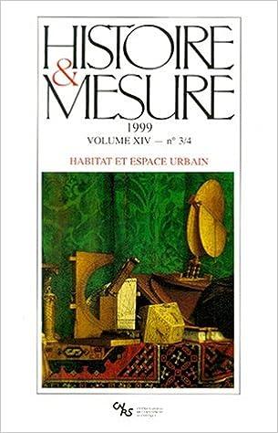 Livre gratuits Histoire et mesure, 1999, numéro 3-4, volume 14 pdf epub