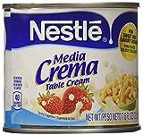 Nestle Media Crema Table Cream - 7.6 Ounce (2 Pack)