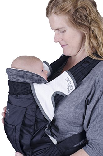 Onya Baby Carrier Booster - Chocolate Chip by ONYA (Image #5)