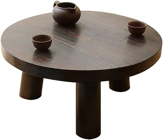 Muebles y Accesorios de jardín Mesas Ronda de Mesa de café salón de café de Madera