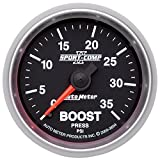 Auto Meter 3604 Sport-Comp II Mechanical Boost Gauge